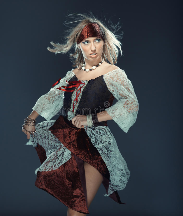 Flamenco χορευτής στοκ εικόνα
