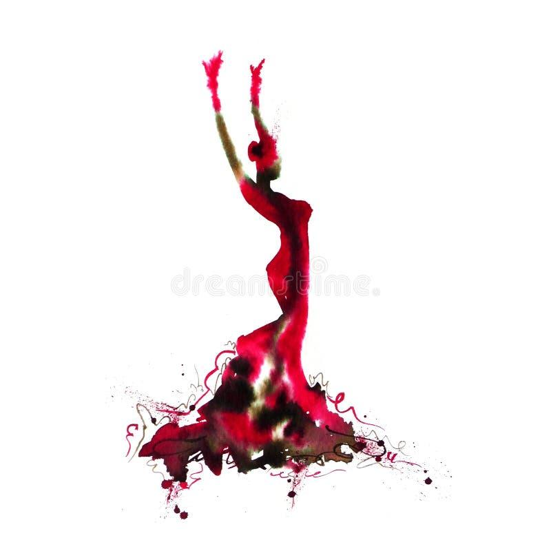 Flamenco χορευτής 02 στοκ φωτογραφίες