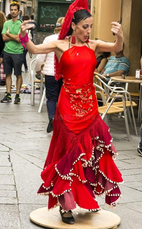 Flamenco χορού τσιγγάνων στοκ φωτογραφία με δικαίωμα ελεύθερης χρήσης