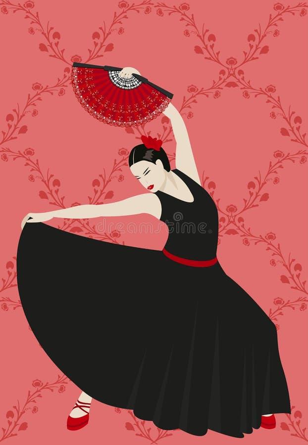 Flamenco illustrazione vettoriale