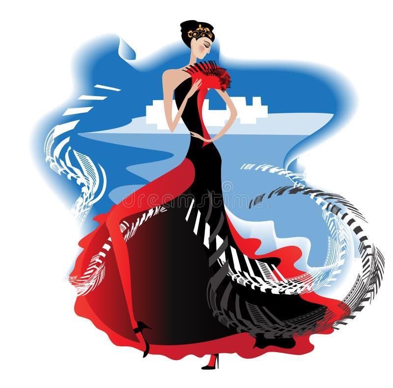 Flamenco libre illustration