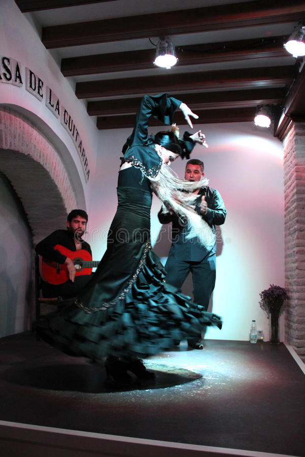 Flamenco ! photographie stock