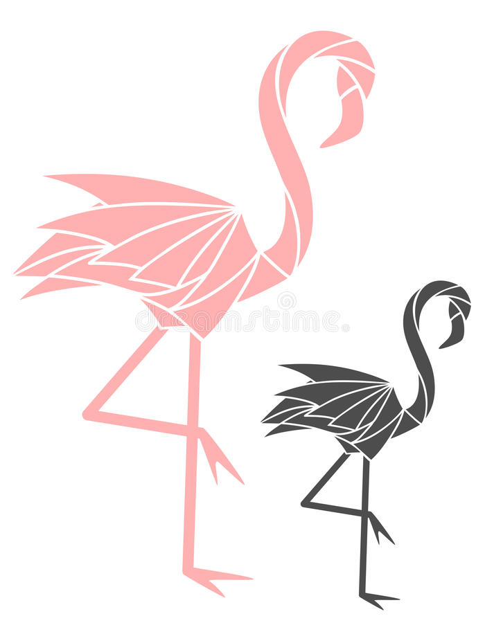 flamenco stock de ilustración