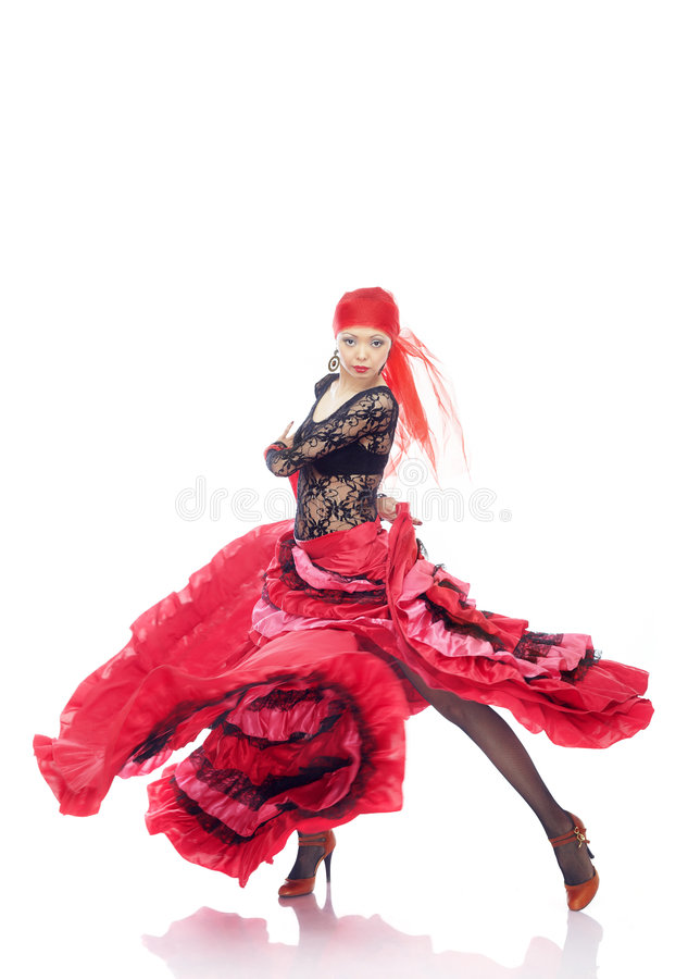 flamenco στοκ εικόνες με δικαίωμα ελεύθερης χρήσης