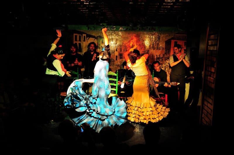 Flamenco Albayzin stock photography