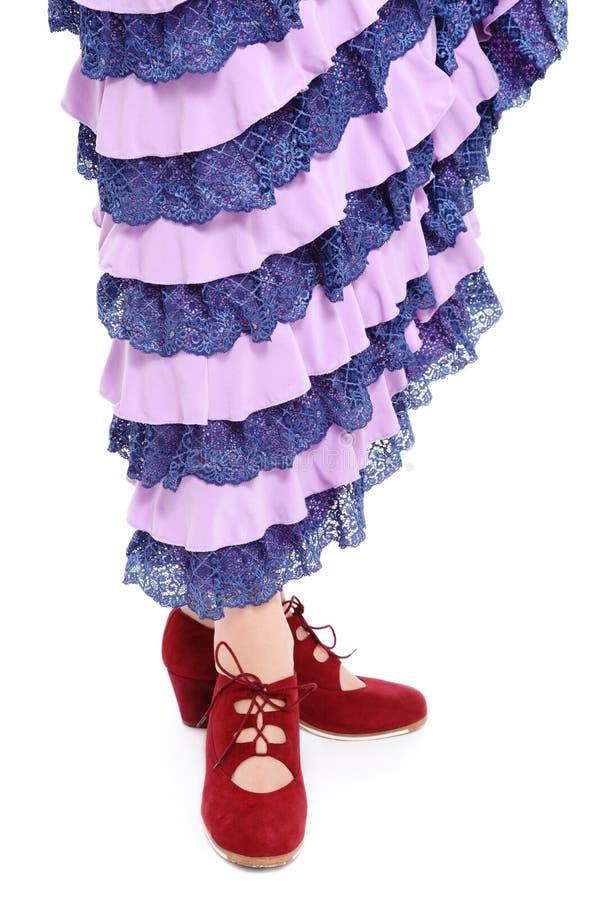 flamenco buty zdjęcie stock