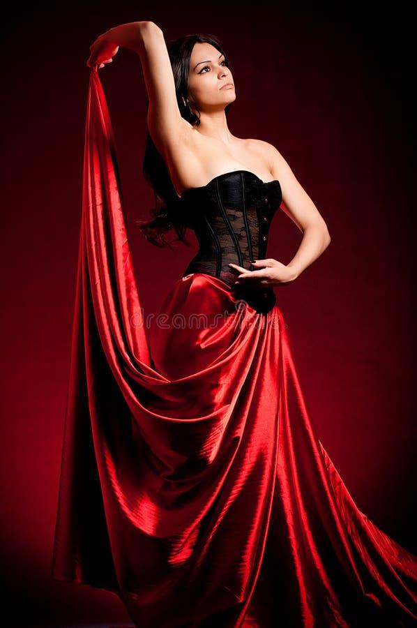 Flamenco Carmen Beautiful Woman Royalty Free Stock Images