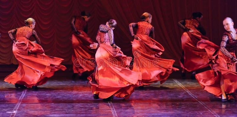 Flamenco dance royalty free stock photography