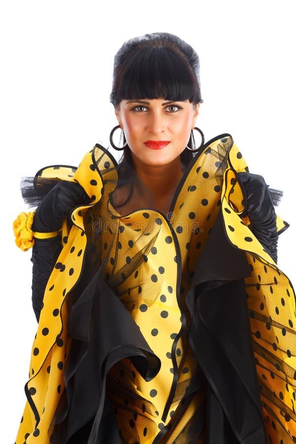 flamenco de danseur photo stock