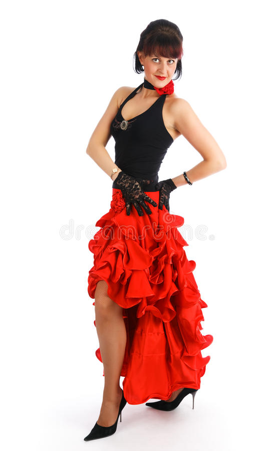 flamenco de danseur photos stock