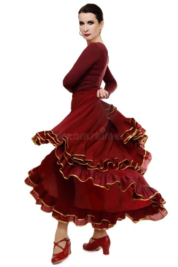 flamenco de danseur photographie stock libre de droits