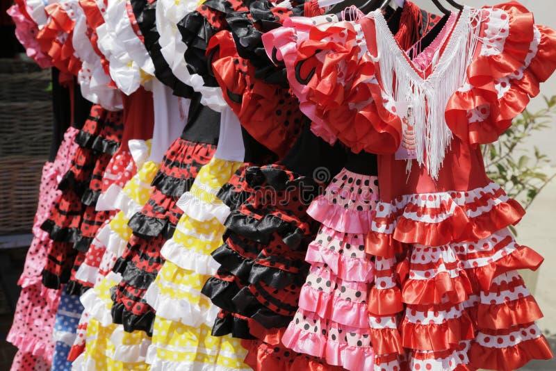 Download Flamenco dresses stock photo. Image of horizontal, gypsy - 11344526