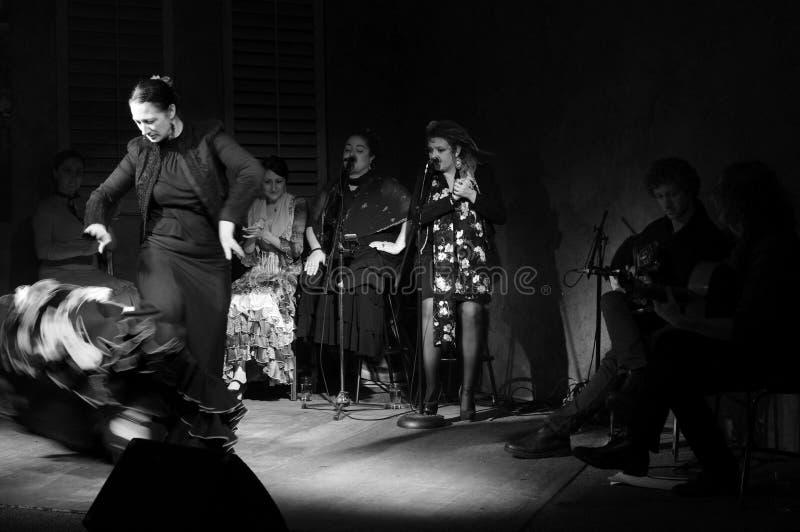 Flamenco at the Heart of the City Festival royalty free stock photo