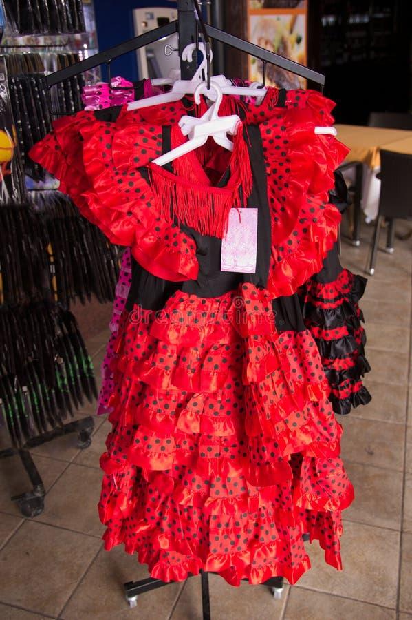 Flamenco klär till salu royaltyfri fotografi