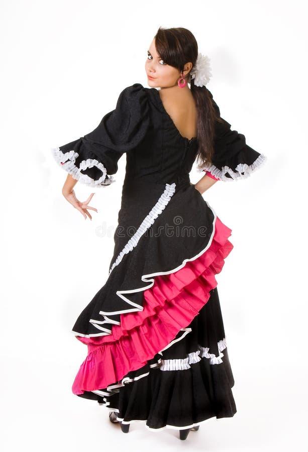 flamenco poserar royaltyfri foto