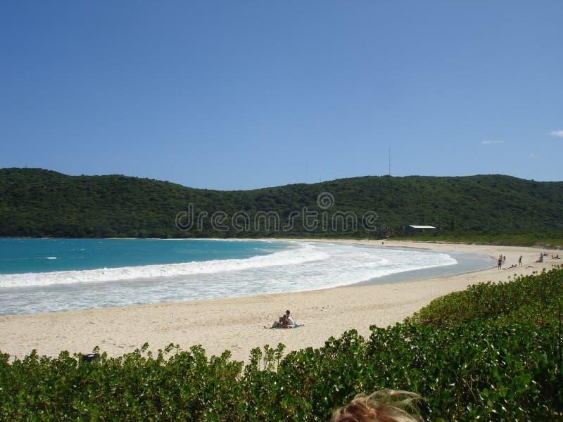 Flamenco-Strand, Karibisches Meer, Puerto Rico stockfotografie