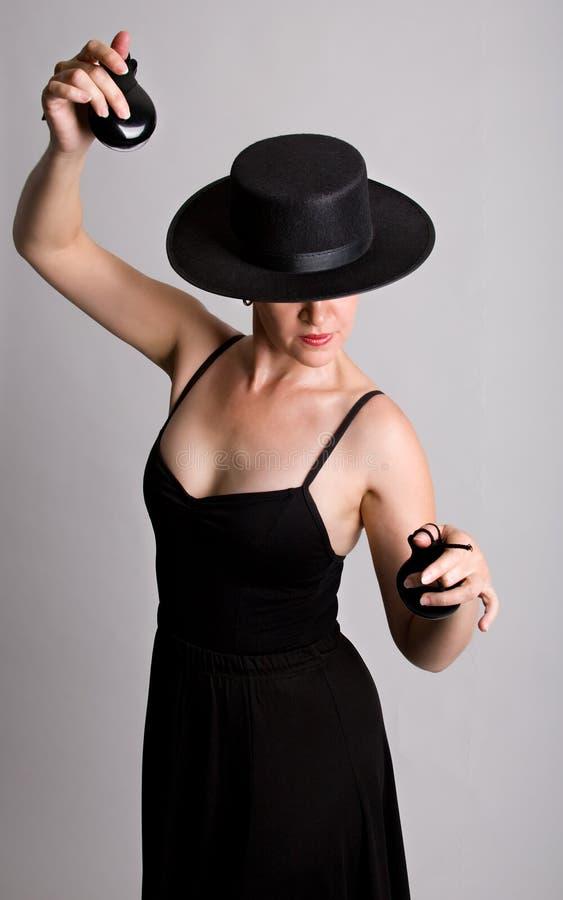 Flamenco-Tänzer lizenzfreie stockbilder