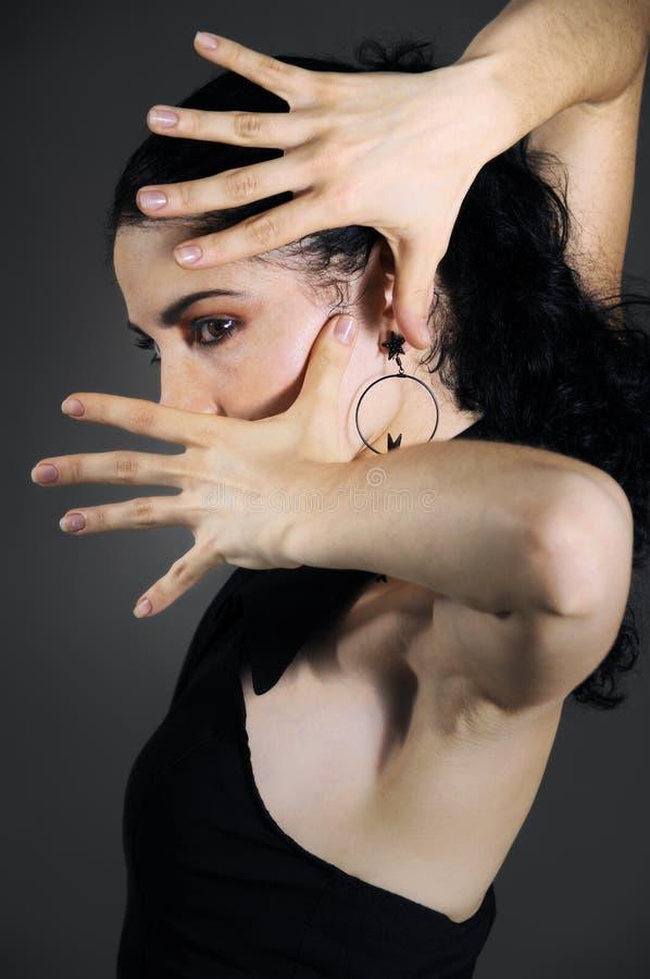 Flamenco Tancerz Bezpłatna Fotografia Stock