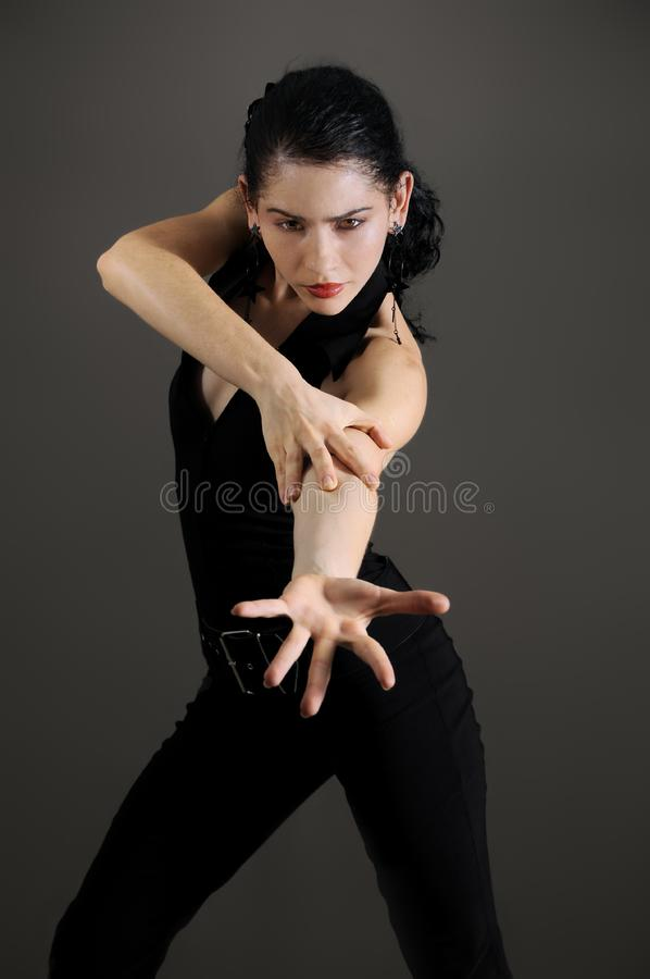 Flamenco tancerz zdjęcia stock