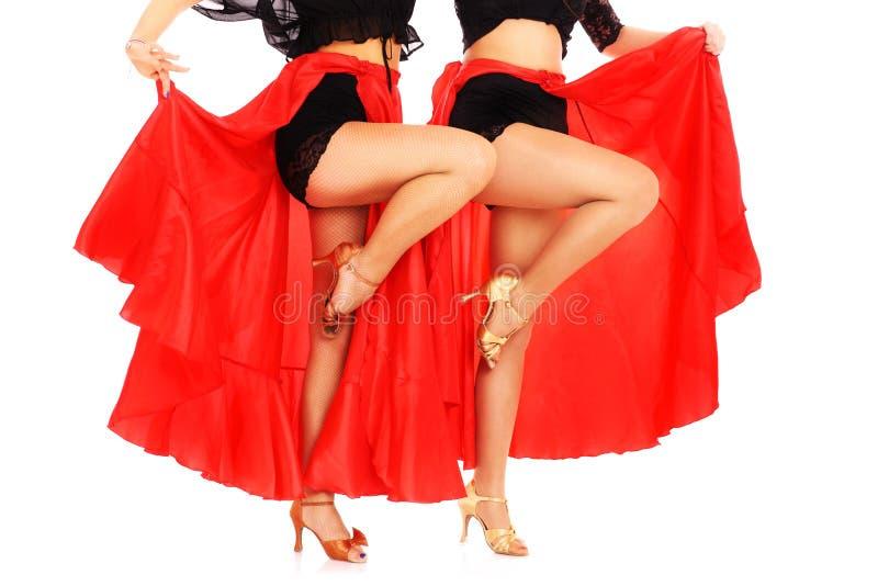 Flamenco tancerze obrazy stock