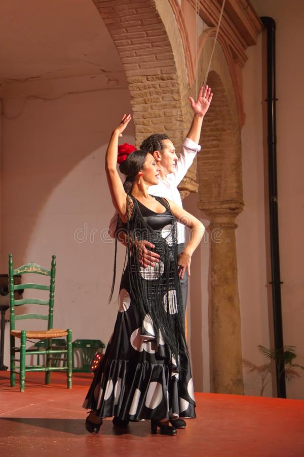 Flamencodansers stock fotografie