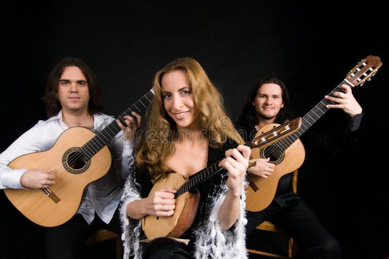 Flamencokünstler stockfotografie