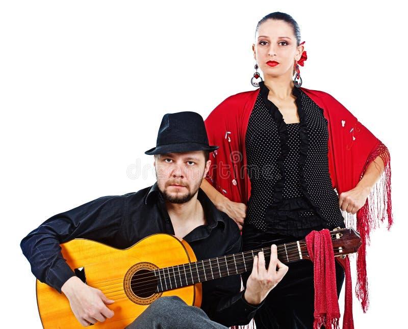 Flamencopaare lizenzfreie stockfotos