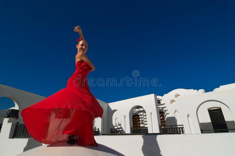 Flamencotänzer stockbild
