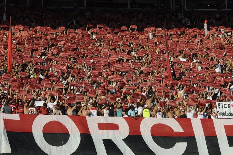 Flamengo contre Botafogo image stock