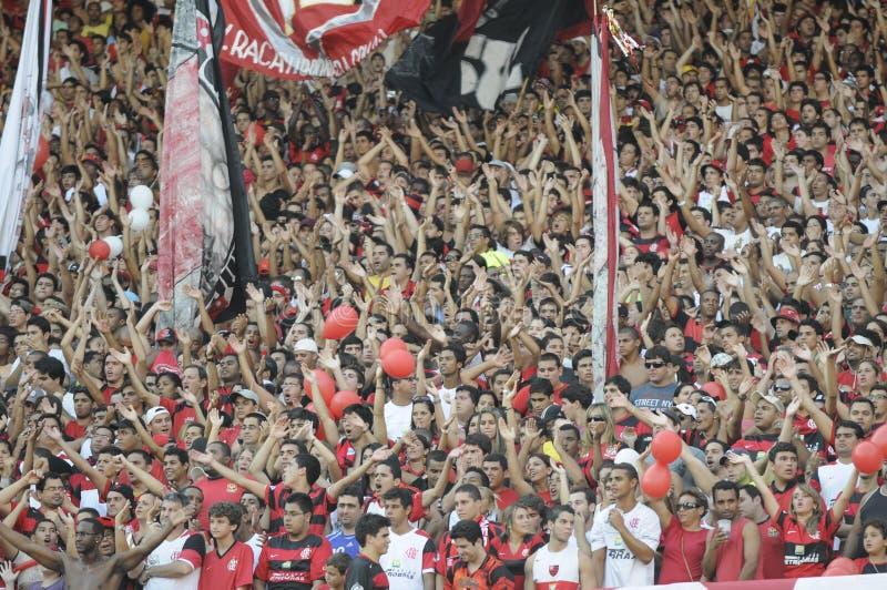 Flamengo contro Botafogo fotografia stock
