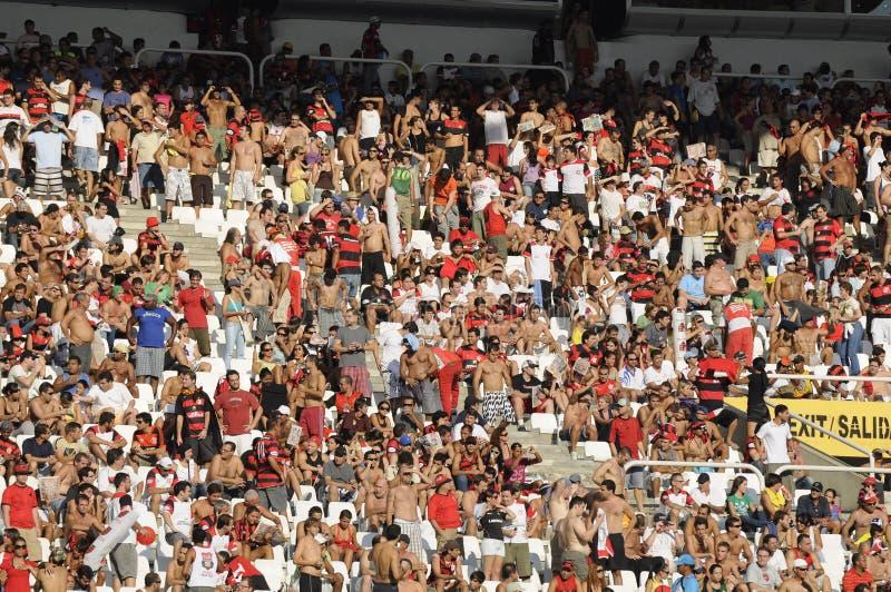 Flamengo gegen Botafogo lizenzfreie stockbilder
