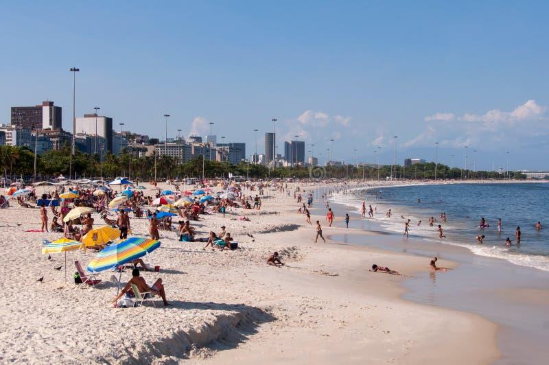 Flamengo plaża zdjęcia stock