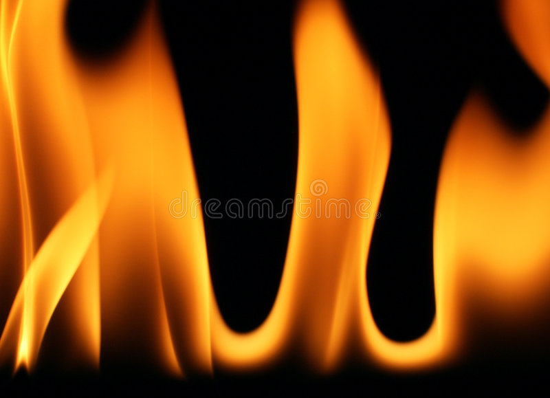 Flames 1 stock photography