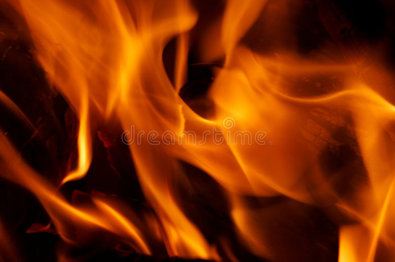 Download Flames stock image. Image of incandescent, abstraction - 2315183