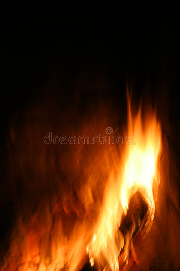 Flames royalty free stock image