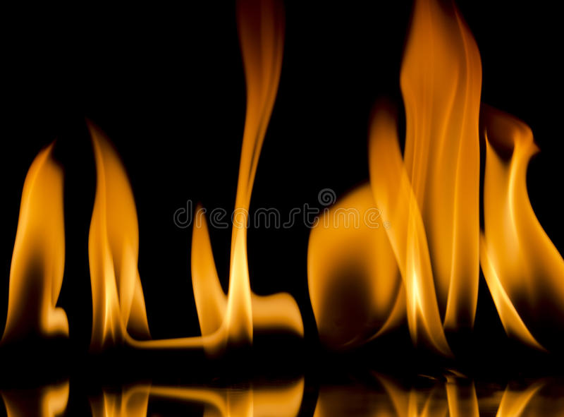 Flames stock photos