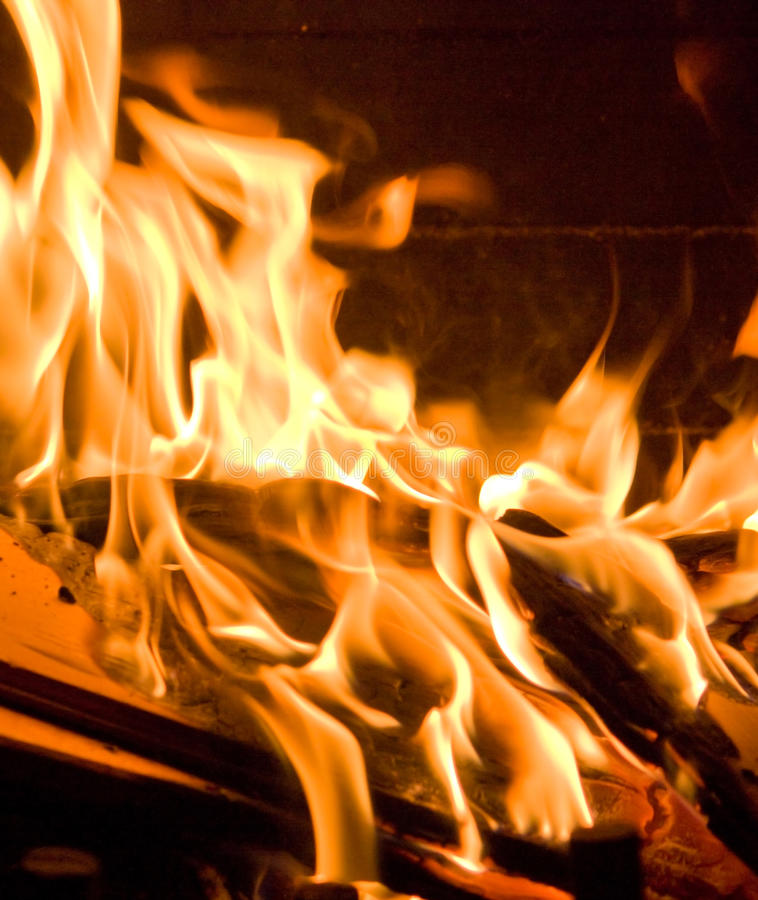 Download Flames of Fire stock image. Image of yellow, burn, fire - 10864433