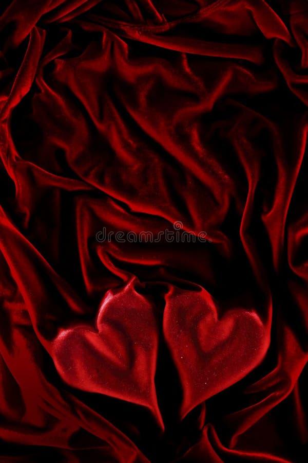 Flaming hearts royalty free stock photography
