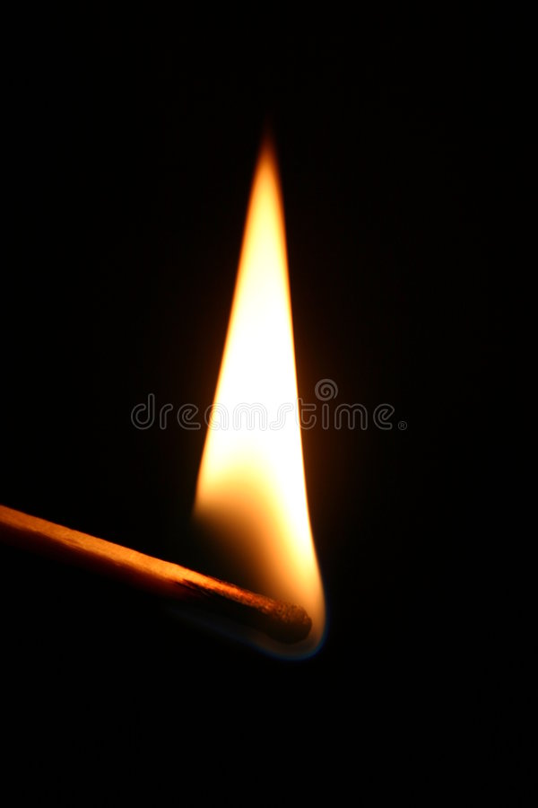 Download Flaming match stock photo. Image of danger, match, stick - 2894