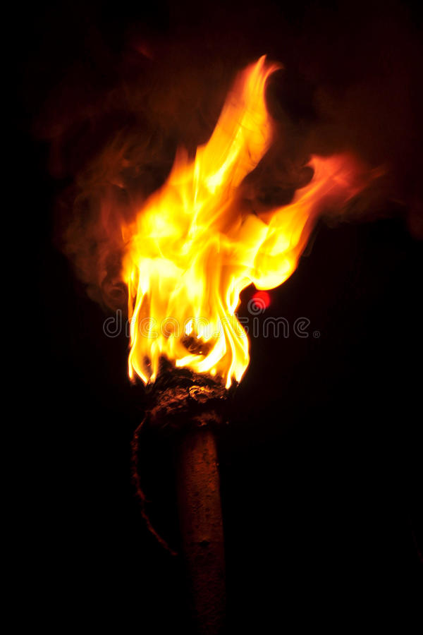 Free Flaming Torch Royalty Free Stock Images - 34541449