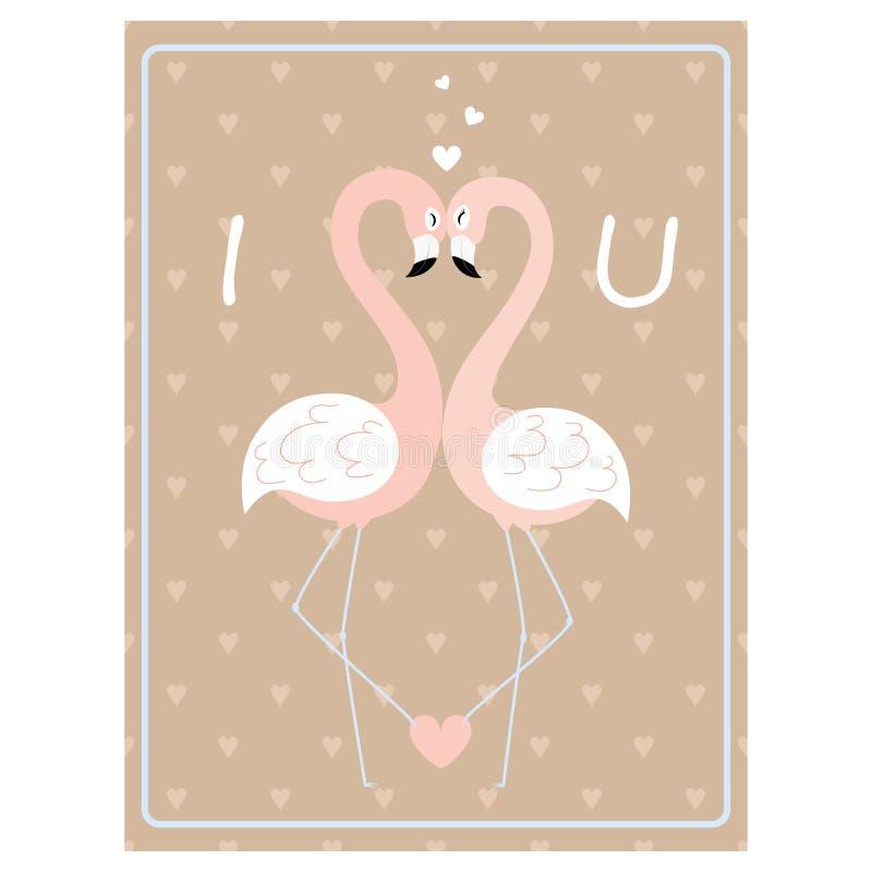 2018 01 23_flamingo ilustração stock