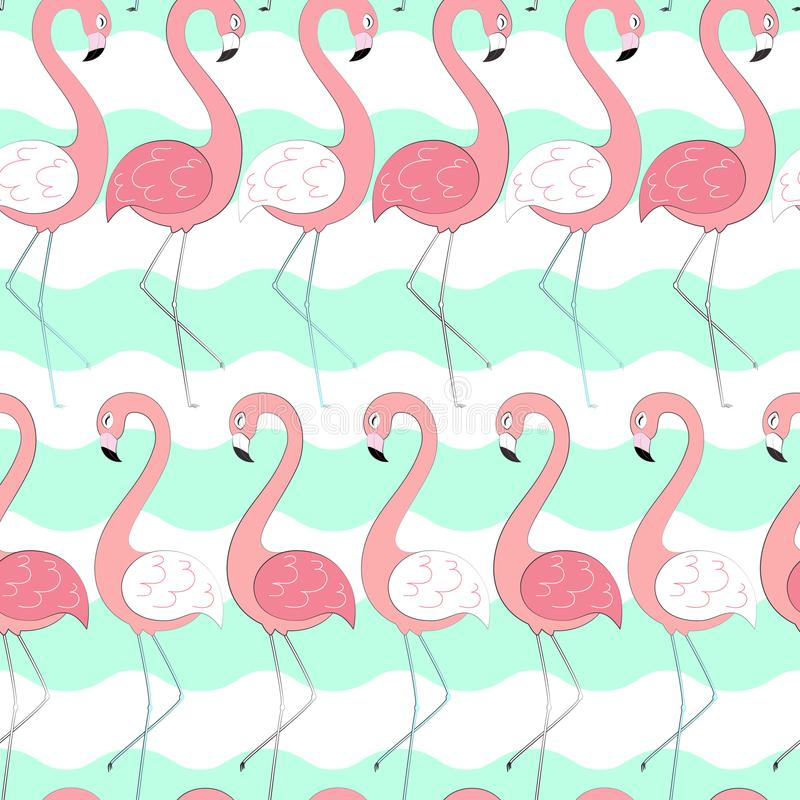 2018 01 30_flamingo ilustração royalty free