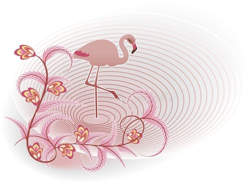 Download Flamingo stock illustration. Illustration of element - 24306910