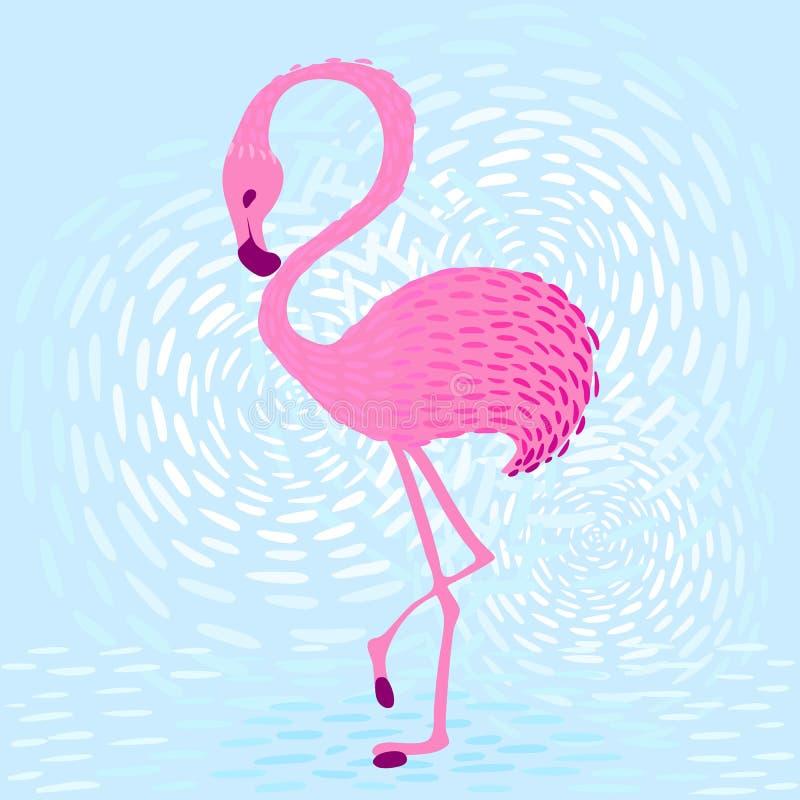 Flamingo_1 ilustracji