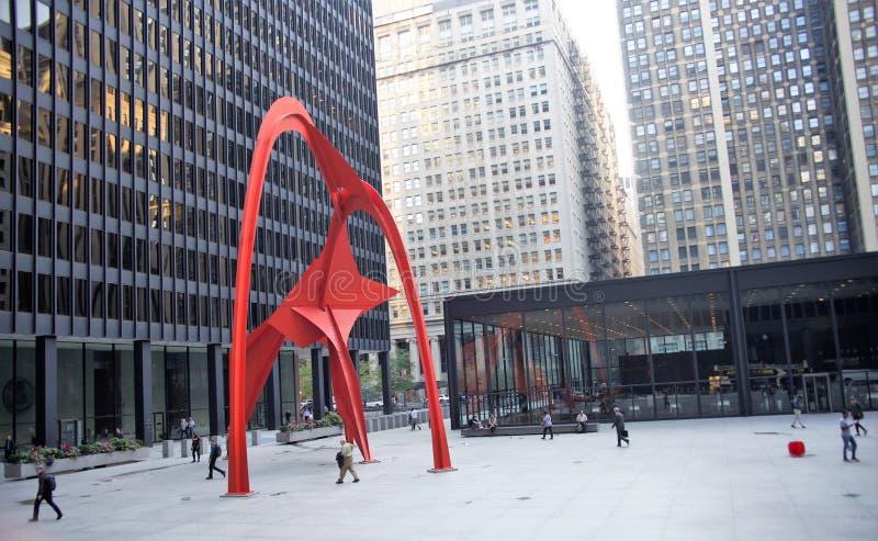 Flamingo, Chicago Illinois stock foto