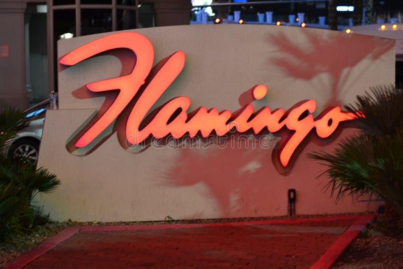Flamingo-Erholungsort, Las Vegas, Nanovolt lizenzfreie stockfotografie