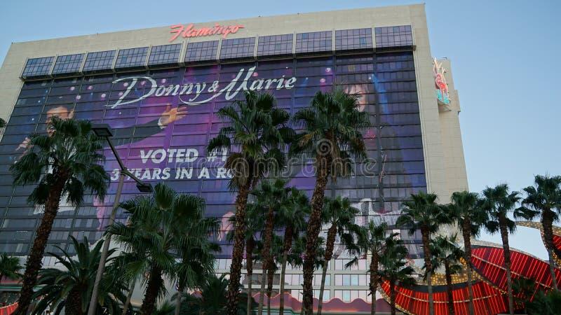 Flamingo-Hotel und Kasino in Las Vegas lizenzfreies stockbild