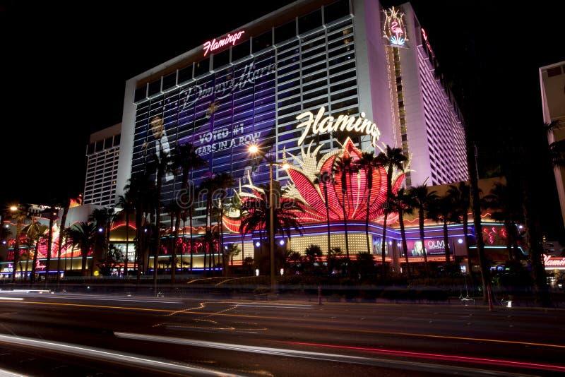 Flamingocasino en hotel in Las Vegas, Nevada royalty-vrije stock afbeelding