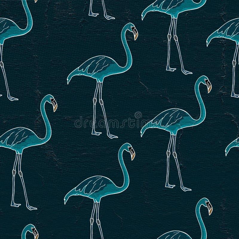 flamingoillustratie royalty-vrije illustratie