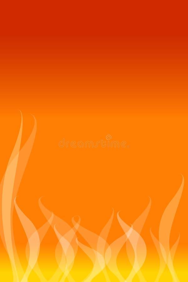 flamm för bakgrund stock illustrationer